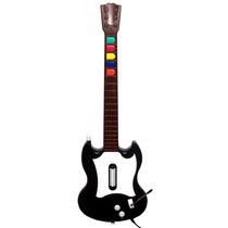 Guitarra Gibson Original Guitar Hero Ps2 Frete Grátis C/ Fio