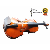 Violino Mavis 1/16 1/8 1/4 1/2 3/4 E 4/4 Web Instrumentos
