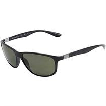 Óculos De Sol Masculino Ray Ban Liteforce Acetato Preto