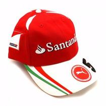 Novo Boné Scuderia Ferrari F1 Sebastian Vettel 2016 Em Sp!
