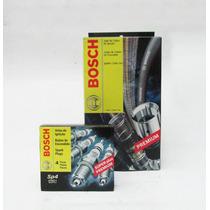 Kit Bosch Cabo E Vela Clio 1.6 1996 97 98 99 Gasolina