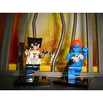 Wolverine Logan E Mystique A Mistica X Mens Lego Compatível
