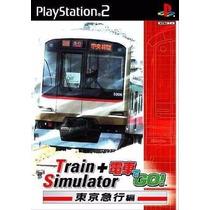 Patch Simulador De Trens No Ps2 Densha De Go + Train Sim