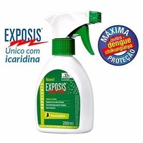 Repelente Exposis Dengue Zika Viru 200 Ml Spray