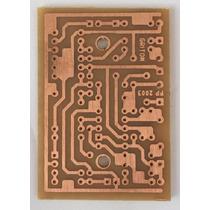 Placa De Circuito P/ Pedal Tubescreamer Ts9 Ts808 Fenolite