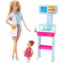 Barbie - Pediatra Quero Ser + Acessórios - Mattel Ccp70