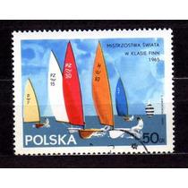 Polonia 1965 * Veleiros Classe Finn .xx