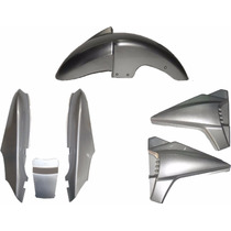 Rabeta Paralama Lateral Kit Completo Dafra Speed 150 Prata