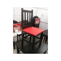 Cadeira Restaurante Pizzaria Almofadasda