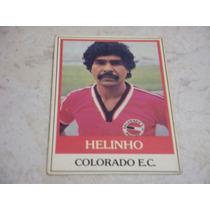 Helinho - Ping Pong Futebol Cards - Nº 382 - Colorado
