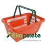 Cesta Plastica Supermercado Hipermercado Mercearia Cestinha