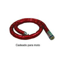 Cadeado Moto Trava Corrente Estepe,portão C/2 Chaves