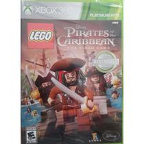 Lego Piratas Do Caribe Xbox 360 Novo Lacrado Envio Imediato