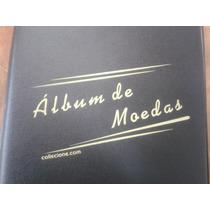 Promoção Natal Album Collecione Pvc P/ 100 Moedas (argolas)