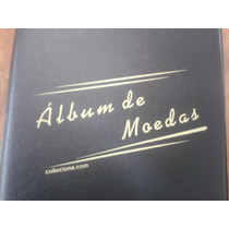 Album Collecione Pequeno Pvc P/ 100 Moedas (argolas)