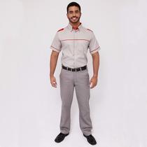 Farda Uniforme Profissional Calça Executiva Masculino