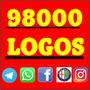 98000 Logos Marcas Logotipo Vetor Corel,illustrator .futebol