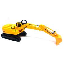 Brinquedo Trator Escavadeira New Holland Braço De Elevação