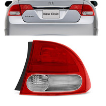 Lanterna New Civic 2007 2008 2009 2010 2011 Traseira Canto L