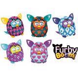 Boneco Furby Boom Hasbro Português + Carregador Com 4 Pilhas