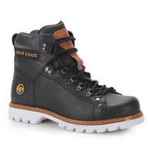 Bota Coturno Masculina West Coast Worker - Preto