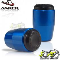 Slider Dianteiro Anker Cbr 1000 Rr 08/11 - Azul - Honda