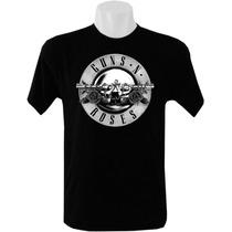 Camiseta Bandas Rock Guns N