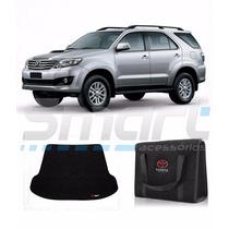 Kit Porta Malas Carpete + Bolsa Toyota Hilux Sw4