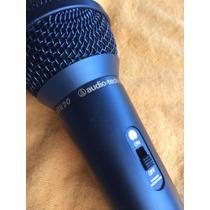 Microfone Áudio Technica Plugue P2 Para Karaokê E Computador