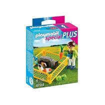 4794 Playmobil Special Plus Garota Com Porquinhos Da Indi...