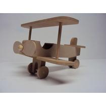 Avião Pequeno Principe Urso Aviador Centro Mesa Kit 5 Pc
