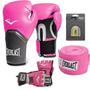 Kit Boxe E Muay Thai Pro Style Everlast Rosa