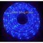 Rolo De Mangueira Led 15 Metros Cor Azul -110 V