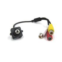 Camera Pinhole Cftv Cmos Camuflada Parafuso Audio Espiã