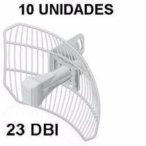 Kit 10 Peças Antena Ag-hp-5g23 5ghz Airgrid, Airmax, 23dbi