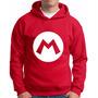 Blusa Moletom Super Mario Bros Luigi Bros Blusa Jogo Mario