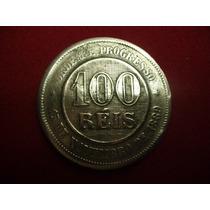 Antiga Moeda De 100 Réis 1889 - República - V036 - L024