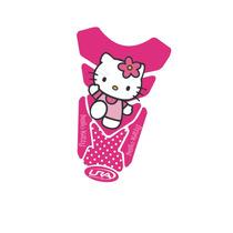 Adesivo Protetor De Tanque Personalizado Hello Kitty