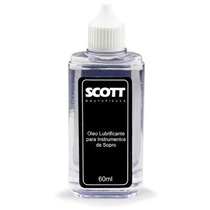 Óleo Lubrificante Para Instrumentos De Sopro 60ml Scott 2277