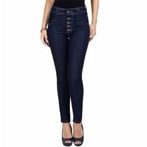 Calca Jeans Femina Cintura Alta Biotipo