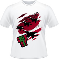 Camiseta Green Day American Idiot Billie Joe Rock Camisa 2