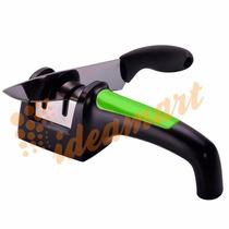 Amolador Afiador De Facas Diamantado Cor Verde B1- D21