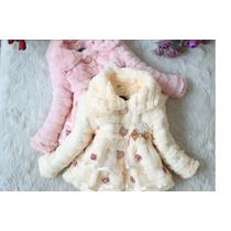 Vestido Criança Menina Infantil Princesa Inverno 4 A 6 Anos