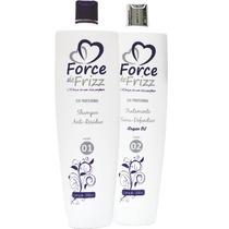 Force Frizz Escova Semi Definitiva 2x1000ml