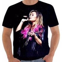Camisa Camiseta Baby Look Regata Demi Lovato 6
