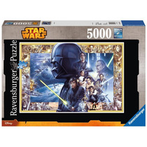 Quebra-cabeça Importado (6069) Puzzle 5000pcs Star Wars Saga