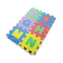 Tapete Infantil Para Bebê Alfanumérico Com 36 Peças