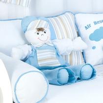 Boneco Porta Fraldas Para Quarto De Bebê Menino Avião Lb1277