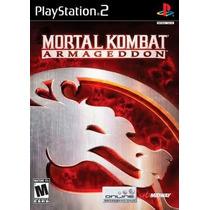 Mortal Kombat Armagedon Ps2 Patch Frete Unico