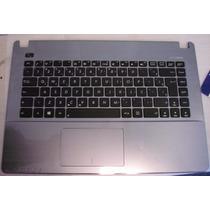 Teclado Asus X450 X450ca + Moldura + Touch Sn5531q Br Ç Novo